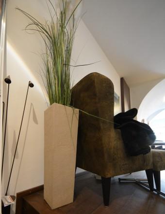 Atelier Vierkant_hohe Vierkantvase H79 B u