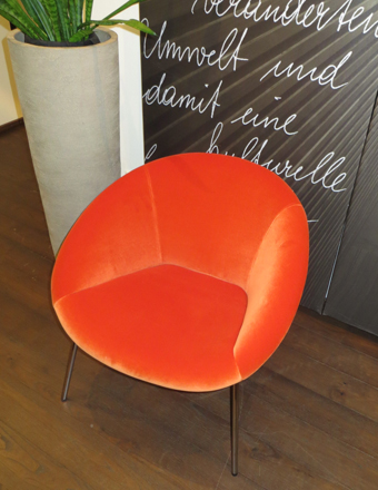 Walter Knoll_Sessel 369-10 orange