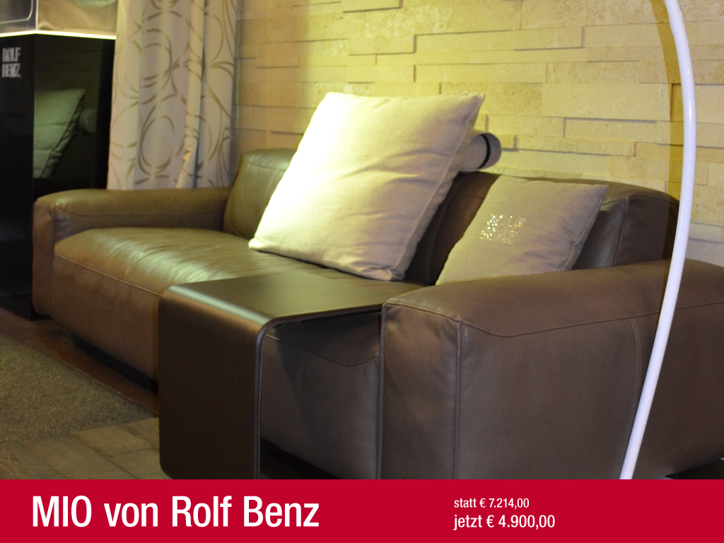 Sofa angebote for Rolf benz angebote