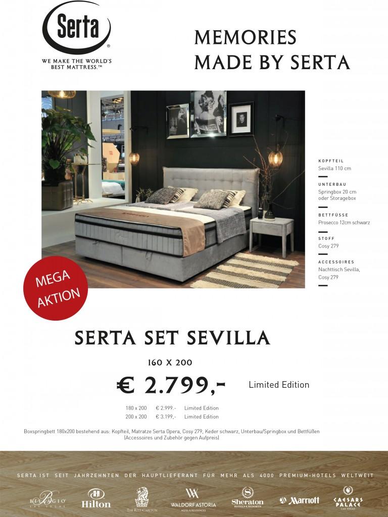 Aktion Messe neutral Bettset Sevilla 2020